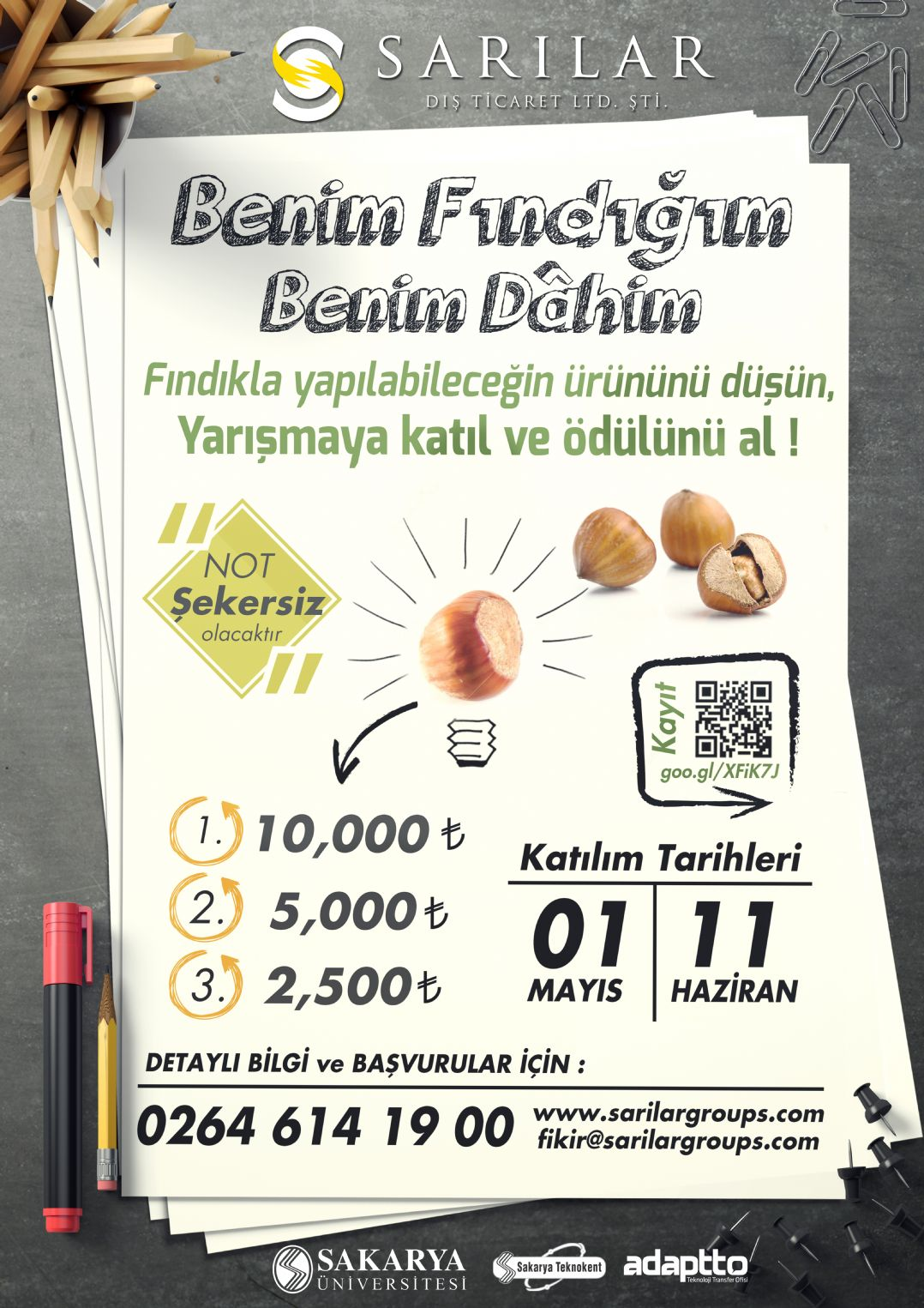 Award Winning Hazelnut Contest from Sarılar